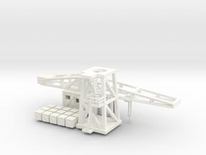 1/160th (N) scale Harbour Crane in White Processed Versatile Plastic
