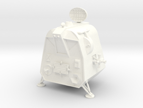 Lost in Space POD Landed 1/72 in White Processed Versatile Plastic