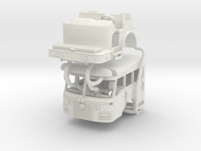 1/87 2003 Rosenbauer Commander Cab in White Natural Versatile Plastic