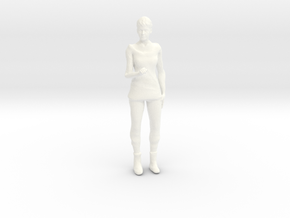 Lost in Space - 1.24 - Maureen Casual in White Processed Versatile Plastic