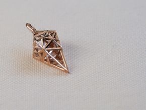 RAY in 14k Rose Gold Plated Brass