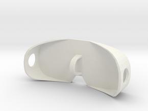 Oculus Quest Lens Protector in White Natural Versatile Plastic