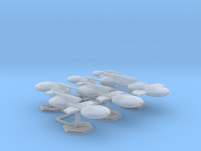 7000 Scale Gorn Fleet Refitted Core Collection SRZ in Smooth Fine Detail Plastic