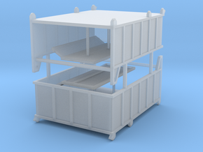 Abrollcontainer 2er in Smooth Fine Detail Plastic