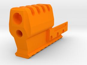 J.W. Frame Mounted Compensator 9-Slots for USP-C in Orange Processed Versatile Plastic
