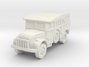 Steyr 1500 (covered) 1/100 in White Natural Versatile Plastic