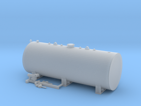 1:50 1000 Gallon fuel tank  in Smooth Fine Detail Plastic