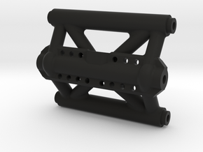 Capra Rear Cage Brace with Sway Bay Mount V1.1 in Black Natural Versatile Plastic