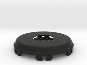 Beta - Combined Cover and Clip plus Sun Gear in Black Natural Versatile Plastic