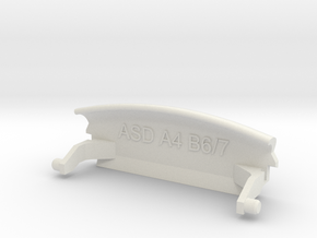 Audi A4 B6 armrest lid standart in White Strong & Flexible