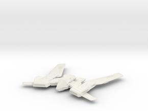 Taipan in White Natural Versatile Plastic