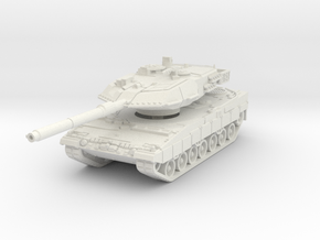 Leopard 2A6 1/76 in White Natural Versatile Plastic