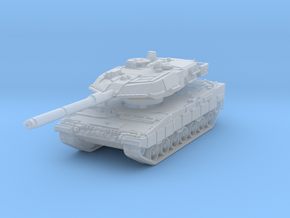 Leopard 2A6 1/144 in Smooth Fine Detail Plastic