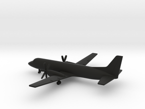 British Aerospace ATP in Black Natural Versatile Plastic: 1:400