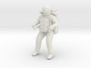 Gemini Astronaut with LTV Unit / 1:48,72,24  in White Natural Versatile Plastic: 1:24
