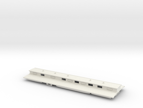 The Queens Coach - Roof in White Natural Versatile Plastic