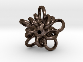 Sohydra in Polished Bronze Steel