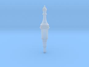 Bishop Plug, Spinotto elettrico Alfiere RE2 Remake in Smooth Fine Detail Plastic