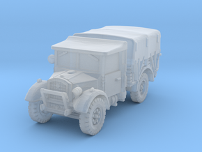 Fordson WOT-2E (closed) 1/120 in Smooth Fine Detail Plastic