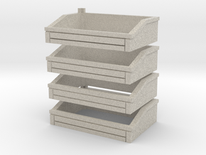 Ballast Bins in Natural Sandstone