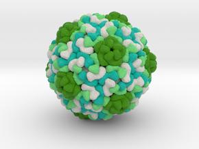 Retrovirus-Like Capsids from Drosophila dArc1 in Natural Full Color Sandstone