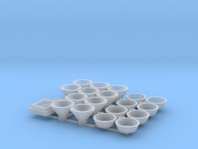 Moebius EVA Pod Earmuff Details in Smooth Fine Detail Plastic