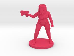 SciFi Shaye Standing in Lingerie in Pink Processed Versatile Plastic