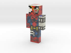 PixleAnarchy | Minecraft toy in Glossy Full Color Sandstone