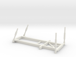 1/87 Scale Army BEB Frame in White Natural Versatile Plastic