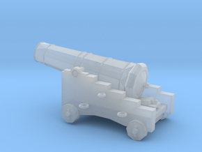 1/96 Scale 18 Pounder Naval Gun in Smooth Fine Detail Plastic
