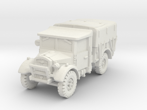 Fordson WOT-2F (closed) 1/87 in White Natural Versatile Plastic