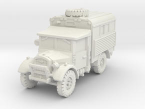 Fordson WOT-2D Radio 1/87 in White Natural Versatile Plastic