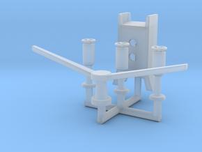 1/150 IJN Yamato Crane Support in Smooth Fine Detail Plastic