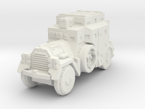 Daimler Sdkfz-3 1/87 in White Natural Versatile Plastic