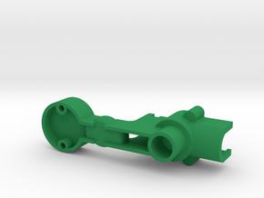 Banzai Run 03-8159 Carrier Body Upgraded in Green Processed Versatile Plastic