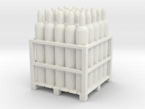Gas Tank Pallet 1/48 in White Natural Versatile Plastic