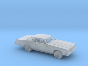 1/160 1976 Oldsmobile Delta 88 Coupe Kit in Smooth Fine Detail Plastic