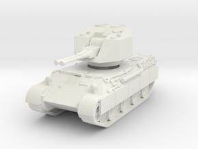 Flakpanzer V Coelian 1/100 in White Natural Versatile Plastic