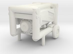 Portable Generator 1/12 in White Natural Versatile Plastic