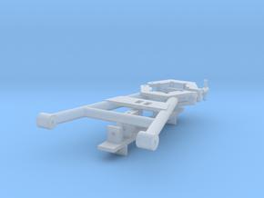 1/35 M51 (Isherman)Gun Travel Lock in Smooth Fine Detail Plastic
