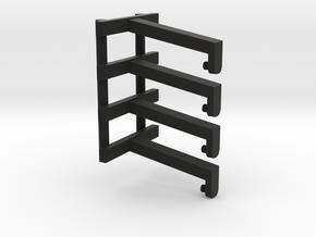 JADA F250 LIFTED 5PC in Black Natural Versatile Plastic