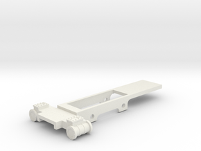 box tank chassis in White Natural Versatile Plastic