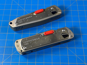 Thumb Tab for the FREE T2 or T4 in Red Processed Versatile Plastic