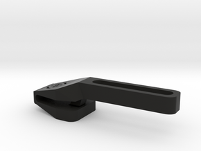 NVG Arm Screw Horseshoe Adapter in Black Natural Versatile Plastic