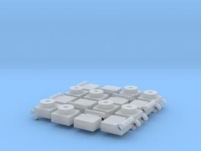 Bisagra 1 (x8) in Smoothest Fine Detail Plastic