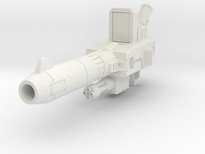 Blaster in White Natural Versatile Plastic