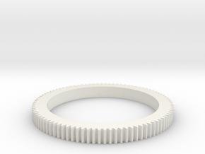 Follo Focus Ring for Leica R35mm & 28mm f2,8 (59,9 in White Natural Versatile Plastic