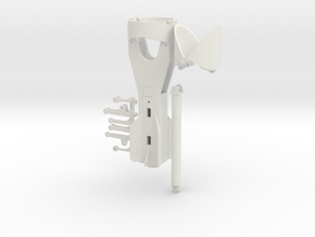 Hammer grab 1200mm in White Natural Versatile Plastic