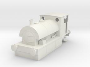 b-43-guinness-hudswell-clarke-steam-loco in White Natural Versatile Plastic
