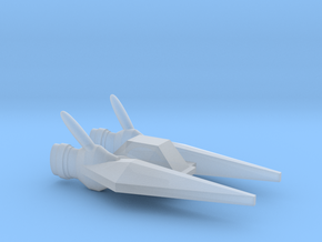 Misculon Fighter / 2.5cm - 1in in Smooth Fine Detail Plastic
